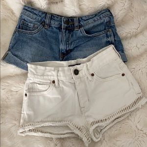 Kendall and Kylie denim shorts bundle